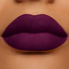 dramatic purple matte velvetines vegan lipstick