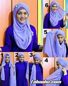 Cara Memakai Jilbab Modis Terbaru Catatan Harianku