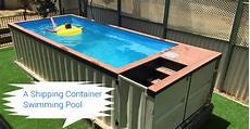 How To Build A Container Swimming Pool Secure Container