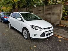 ford focus mk3 ford focus 2012 mk3 white zetec automatic in streatham