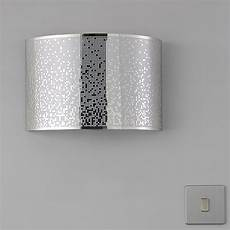 klerk chrome effect single wall light departments diy at b q