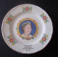 queen elizabeth ii 1952 2002 the golden jubilee trinket holder falcon china 3 00 picclick