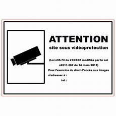panneau site sous surveillance panneau signal 233 tique en pvc rectangulaire adh 233 sif site sous vid 233 o surveillance n c vente de