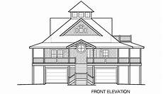 waterfront house plans on pilings island cottage piling foundation front entrance garage