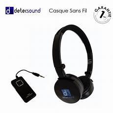 casque audio sans fil detec sound universel avec