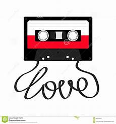 cassetta musica cassetta di cassetta audio di plastica con di parola