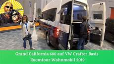 Grand California 680 Auf Vw Crafter 2019 Roomtour 179