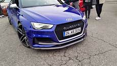 Audi Rs3 Clubsport 550hp