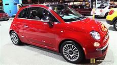 2016 fiat 500 cabrio exterior and interior walkaround