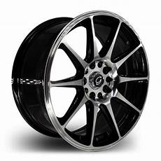 18 zoll felgen 18 inch g line 901 black blue lip wheel rims tires fit