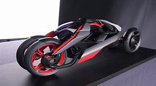 Future Technology Concept Audi Nexus With The Heart Of