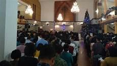 Ibadah Malam Natal Di Gereja Hkbp Sudirman Khidmat Jemaat