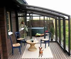 Terrassen Windschutz Glas - deko ideen windschutz f 252 r terrasse und balkon w 228 hlen 20