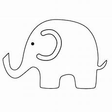 baby elephant clipart to print clipground