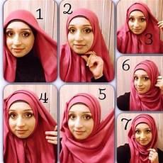 Cara Pakai Jilbab Segi Empat Sehari Hari Model Jilbab