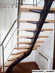Escalier Quart Tournant Sur Mesure Escalier Design Limon Central Un Quart Tournant Sur Mesure
