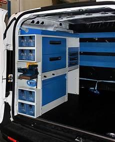 scaffali per furgoni allestimento fiat doblo con scaffali e cassetti
