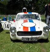 MG Midget 1972  Crystal Palace Rally 2014