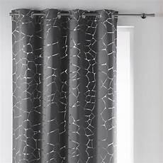 rideaux gris rideau 140 x h260 cm sahel gris achat vente voilage