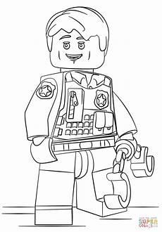 Malvorlagen Lego Polizei Ausmalbild Lego Verdeckt Ermittelder Polizist