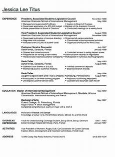 qetupa simple resume exles for students