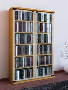 cd regal mit glastür vcm cd dvd regal quot galerie quot kaufen otto