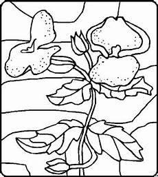 Einfache Malvorlagen Blumen Einfache Blumen Vor Muster Ausmalbild Malvorlage Blumen