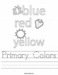 primary colors printable worksheets 12993 primary colors worksheet twisty noodle