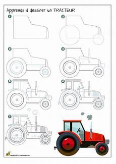 2016 09 En Traktor Easy Drawings Drawing Lessons
