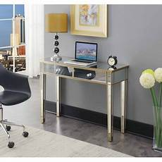 home office furniture gold coast convenience concepts gold coast mirrored desk walmart com
