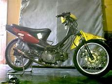 Modifikasi Motor Shogun 110 Kebo by Modifikasi Suzuki Shogun 110 Cc Thecitycyclist