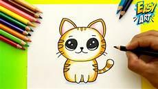 C 243 Mo Dibujar Un Gato Kawaii How To Draw Cute Cat