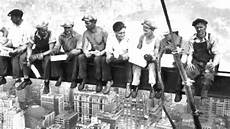 quot lunch atop a skyscraper quot in 3d