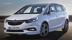 Opel Zafira C - opel vauxhall zafira facelift unveiled with new