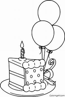 birthday balloon coloring pages in 2020 with images