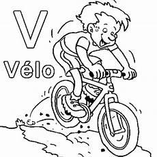 image vélo à imprimer coloriage v comme v 233 lo en ligne gratuit 224 imprimer
