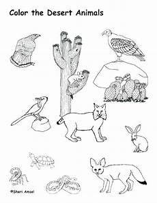 coloring pages ecosystem animals 16973 animal habitat coloring pages desert coloring pages desert animals coloring page desert habitat