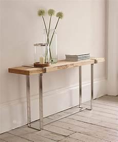 fabriquer une console en bois diy comment fabriquer une table console