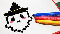 Bilder Zum Nachmalen Pixel Pixel How To Draw Kawaii Ghost Pixelart