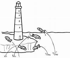 Kostenlose Malvorlagen Leuchtturm Kostenlose Malvorlage Sommer Leuchtturm Zum Ausmalen