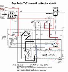 12 volt ezgo solenoid wiring diagram 2015 ezgo txt 48 volt wiring diagram