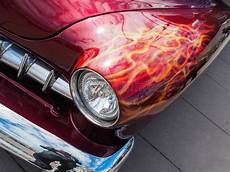 flame red custom car stock image image of automobiles 1315717