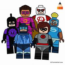 Malvorlagen Lego Incredibles How To Draw Incredibles Drawing Lego Incredibles 2 Part 4
