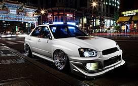 Subaru Impreza Sti Tuning Stance Car