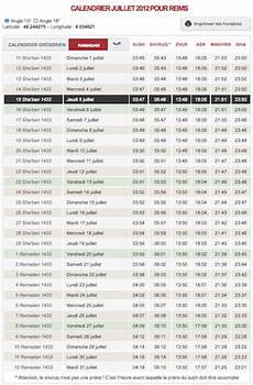 horaire priere 12 degres horaire de pri 232 re votre calendrier du mois de juillet