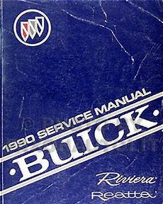 online car repair manuals free 1990 buick riviera engine control 1990 buick riviera reatta repair shop manual original