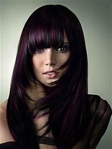 couleur cheveux violet foncé couleur cheveux violet fonc 233 mode pour femme couleur
