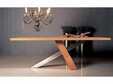 Table De Repas Design Ch 234 Ne Massif Brut Huil 233 Inox