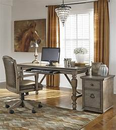 home office furniture outlet tanshire home office desk set ashley home gallery