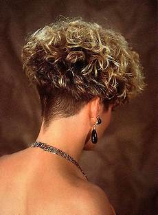permed wedge clippered nape bones curly hair styles hair short permed hair
